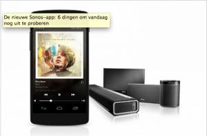 Sonos Nieuwe App